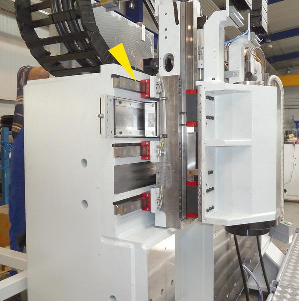 LOCKED SL - Bearbeitungsposition einer Sonderdrehmaschine