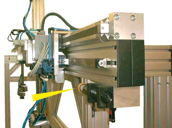 MC33-64 - Portal für die Maschinenbeschickung