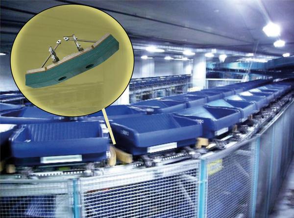 SLAB SL030-300 Gepäcktransport Flughafen