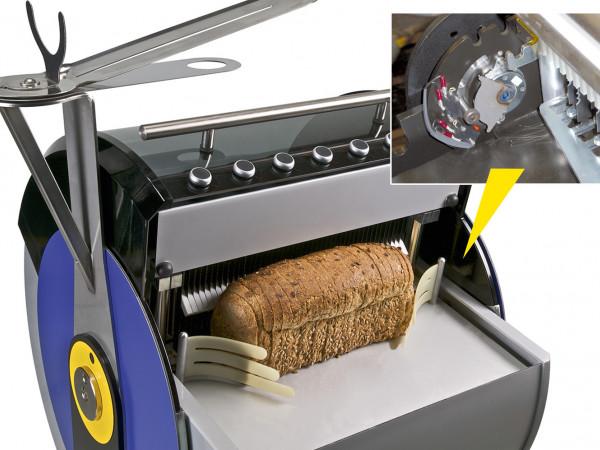 FDT Schutzklappe bei Brotschneidemaschinen