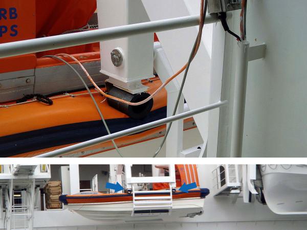 TUBUS TR-L - Sicherheit für Rettungsboote