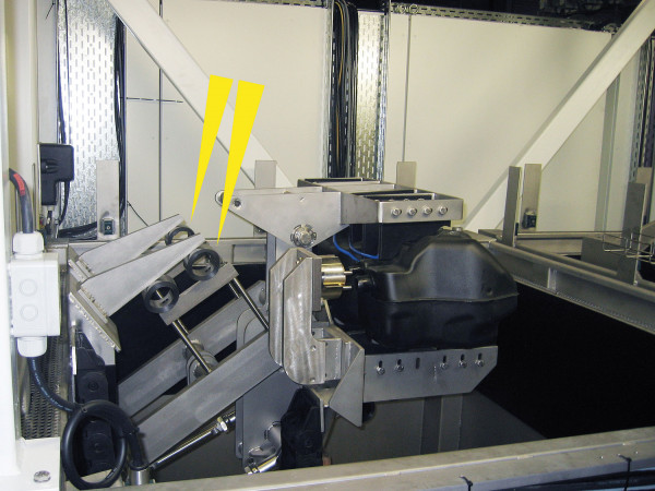 TUBUS-TR Endlagendaempfung Hydraulikantrieb