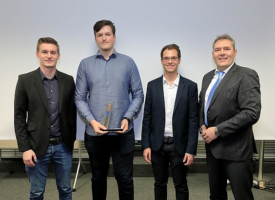 INNOVACE 2018 Gewinnerteam Bochum