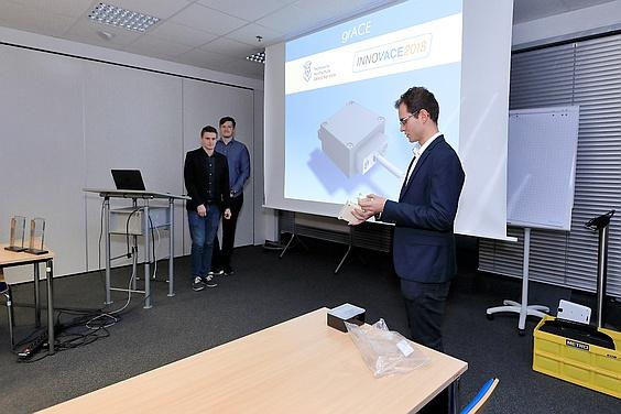 INNOVACE 2018 Gewinnerteam Bochum Präsentation