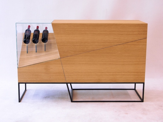 "Weinpräsentationsmöbel ""Slide Bar"""