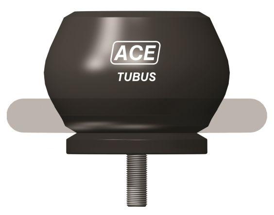 Kleine Kosten, große Kraftaufnahme: Die TC-Baureihe der TUBUS überzeugt durch Energieaufnahme in Bereichen zwischen 630 bis zu 17.810 Nm/Hub