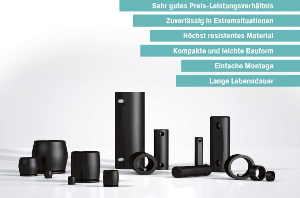 ACE TUBUS Produktserie mit Produktvorteilen
